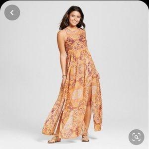 Boho style maxi dress by xhilaration at Target